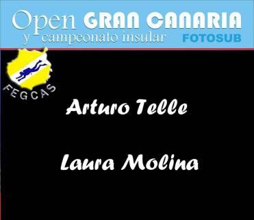 Aturo Telle y Laura Molina: 214 puntos