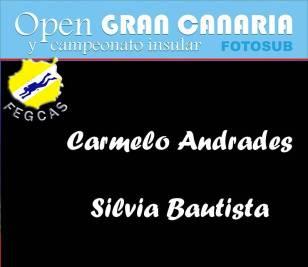 Carmelo Andrades y Silvia Bautista: 157 puntos