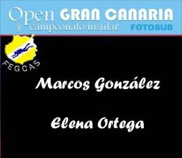 Marcos González y Elena Ortega: 174 puntos