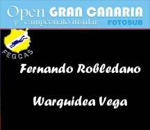 Fernando Robledano y Warquidea Vega: 189 puntos