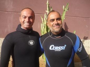 Julio Díaz Sangil y Carlos González Acebes
