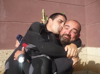 Sacha Lobenstein y Adrián Fernández Hernández