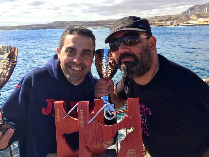 Sacha Lobenstein y Adrián Fernández han renovado, por tercera vez consecutiva, su título de campeones de Tenerife de Fotosub