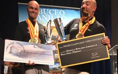 Campeones de España de Fotografía Submarina NAFOSUB2017