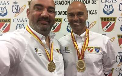 Medalla de Oro a la mejor foto de «angular con Buceador» en el NAFOSUB 2018