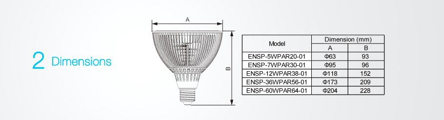 Led Display Spot Lighting