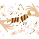 God Jul illustration
