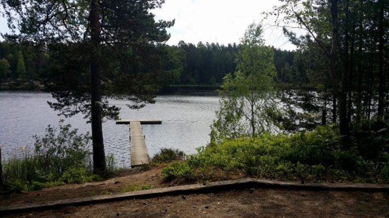 sommar - bild från Rudan i Haninge vatten