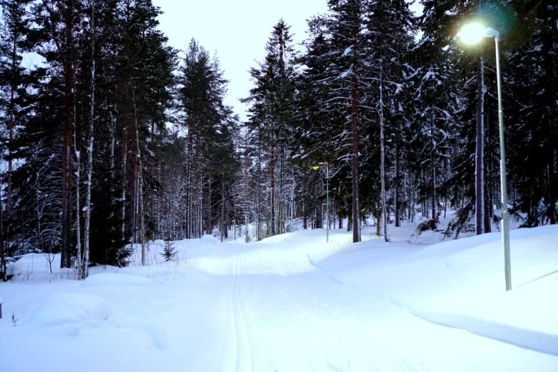 prestationsångest närvaro knarrande skor mot snö