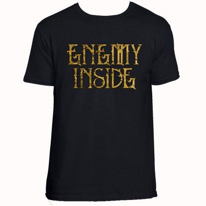 Enemy Inside Merchandise Men Shirt Gold