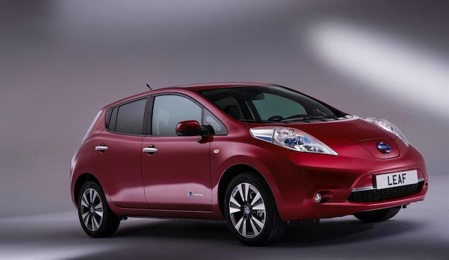 Nueva versión del Nissan Leaf