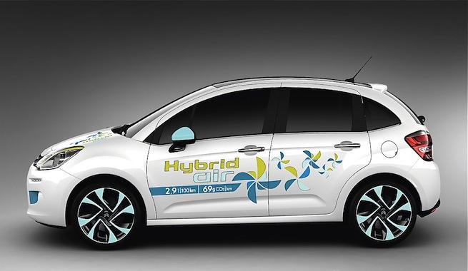 Peugeot Hybrid Air, el coche que funciona con aire