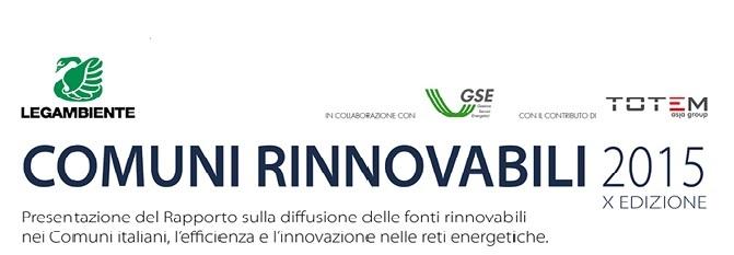 Comuni rinnovabili 2015