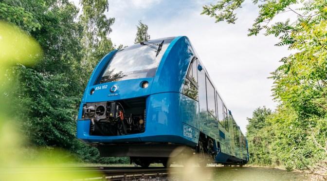 Germania: il primo treno passeggeri ad idrogeno del mondo