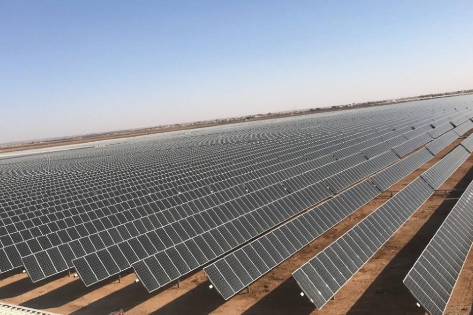 Industria de Energía Solar Fotovoltaica