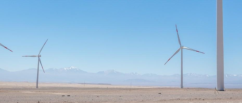 Energía eólica en América