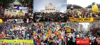 785.000 personas participan en la mayor movilización mundial por el clima