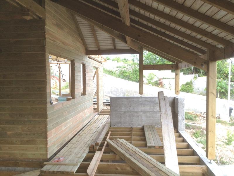 plan de maison en bois en guadeloupe