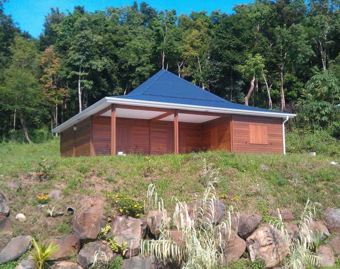 plan maison bois guadeloupe