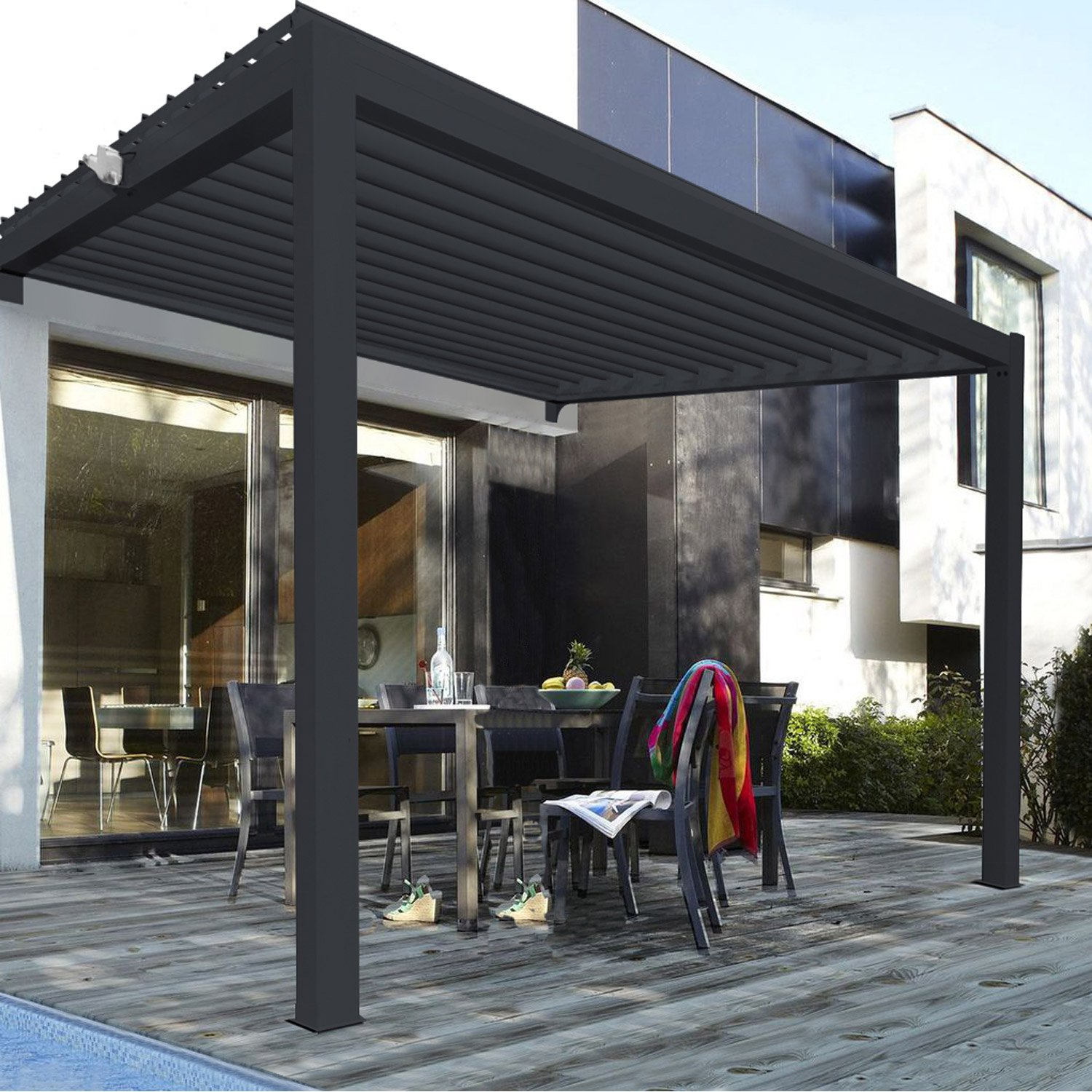 pergola bois chez leroy merlin la biomasse notre energie. Black Bedroom Furniture Sets. Home Design Ideas