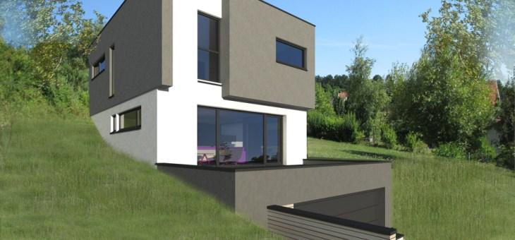 Plan De Maison En Bois Moderne