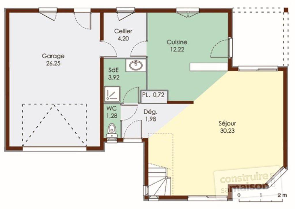 plan maison bois ecologique
