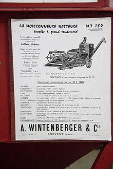 barre de guidage agricole