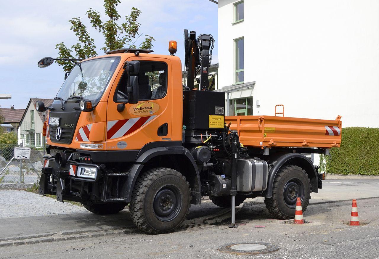 camion deneigement occasion
