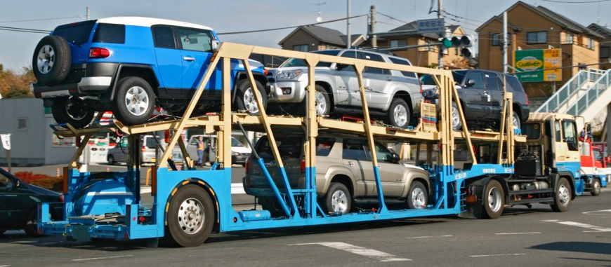 camion porte auto