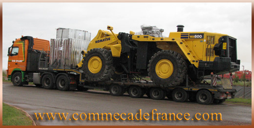 europe camion grue