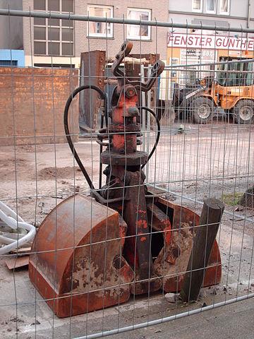 godet hydraulique