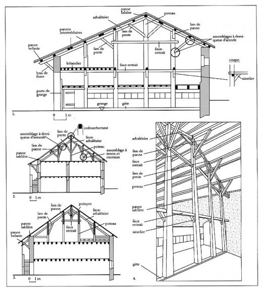hangar agricole en bois