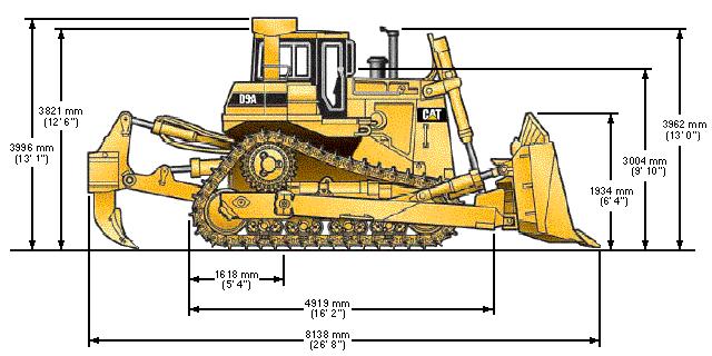 lame tracteur