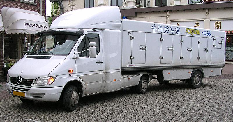camion mercedes benne