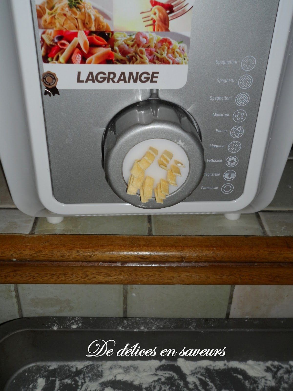 machine a pâtes fraîches