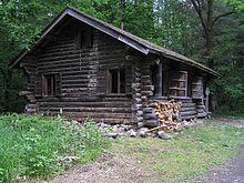 maison en rondin canada