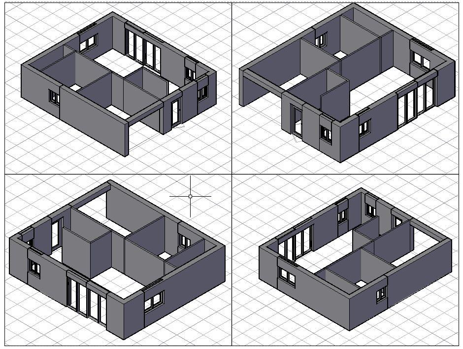 plan maison autocad dwg