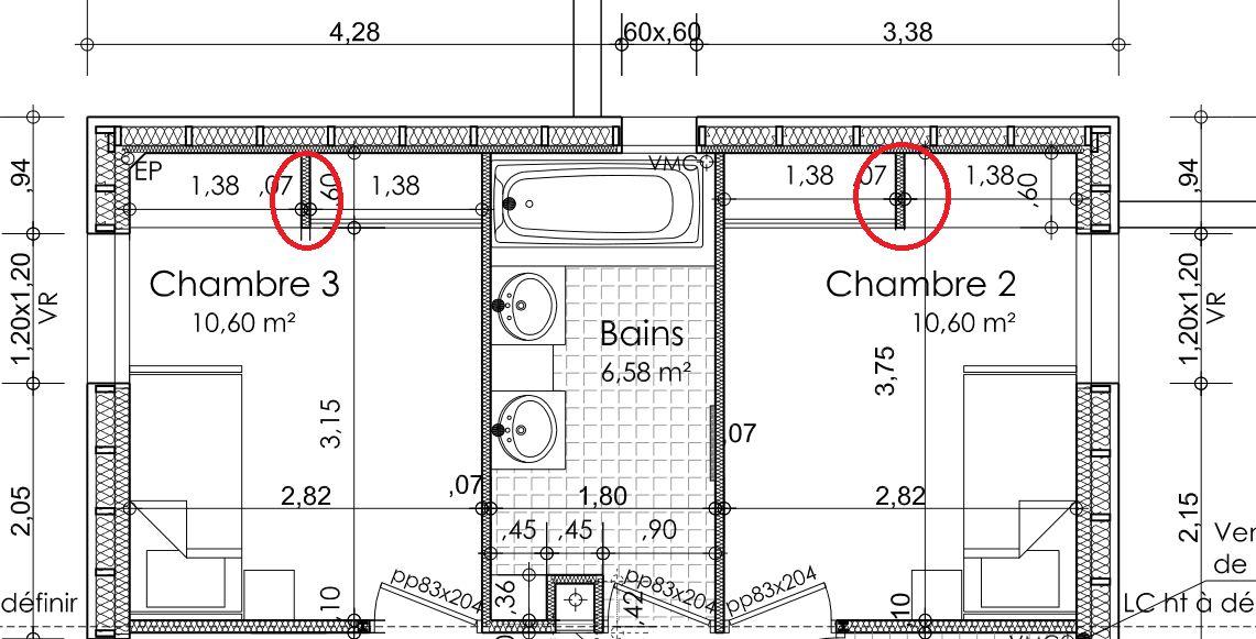 plan maison plein pied moderne