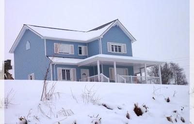 maison en bois style américain