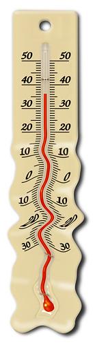 thermomètre fondu