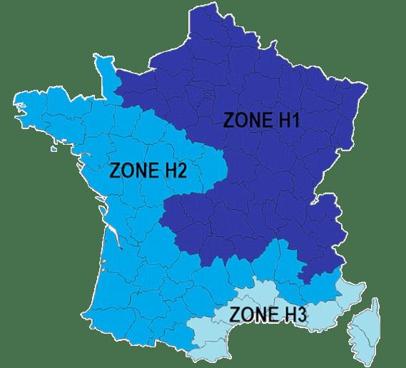Zone climatique des CEE