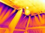 De oorzaak van tochtklachten in beeld gebracht met thermografie