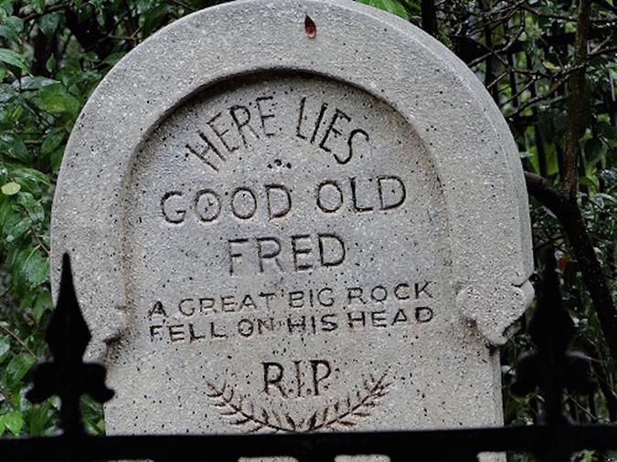 22 - Co si necháte vytesat na náhrobek Vy?