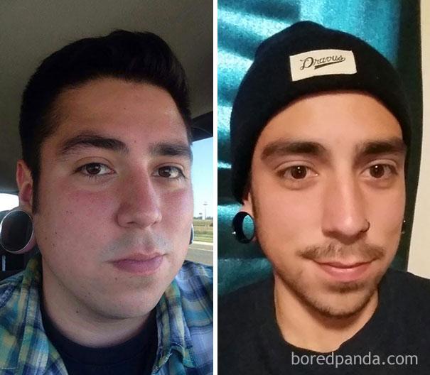 14 - Přestali pít alkohol. Jak se změnila jejich tvář?