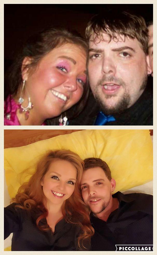 18 - Přestali pít alkohol. Jak se změnila jejich tvář?