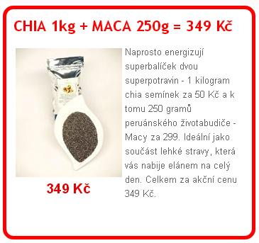 chia+maca - Avokádo umí bojovat se zhoubnou leukémií