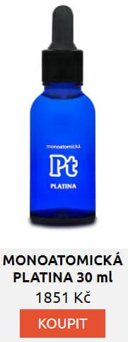 MONOATOMICKÁ PLATINA 30 ml