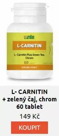 carnitin - L-carnitin je aminokyselina, co zpomaluje stárnutí