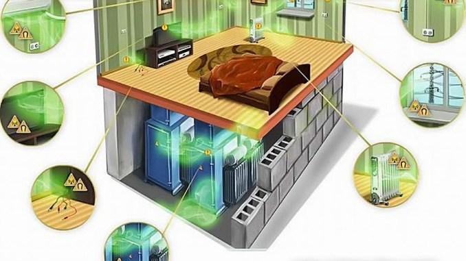 Elektromagnetické záření.