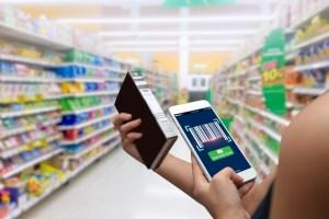 Složení potravinářských výrobků zjistíte také pomocí chytré mobilní aplikace. Foto: Shutterstock